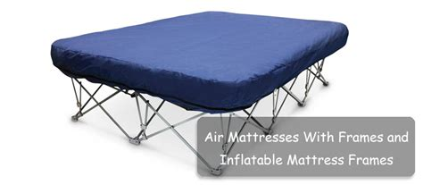 top 5 air mattresses with frames and mattress frames