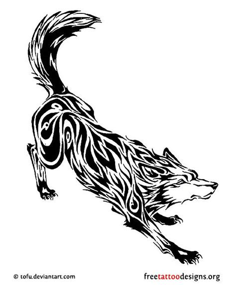 tribal tattoo god fenrir norse wolf god the tattooed lady pinterest