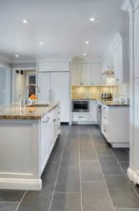 White Tile Kitchen Floor 30 Tile Flooring Ideas With Pros And Cons Digsdigs