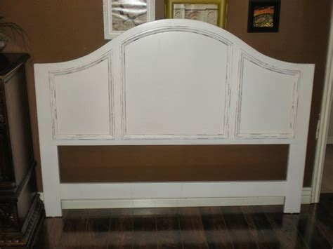 Distressed White Headboard by White Wood Headboard Trends With Best Wooden Ideas