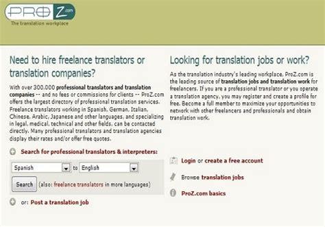 Make Money Translating Online - make money with translation 6 best online translation jobs websites