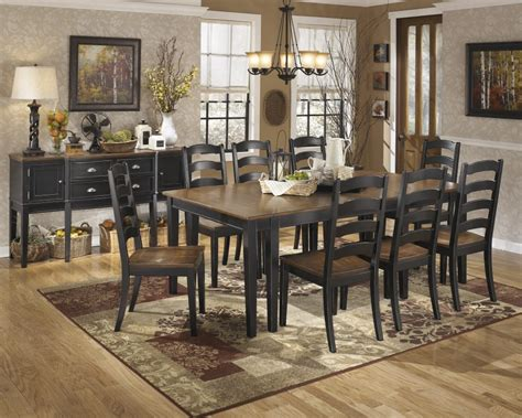 ashley furniture dining room tables d580 60 ashley furniture owingsville dining room server