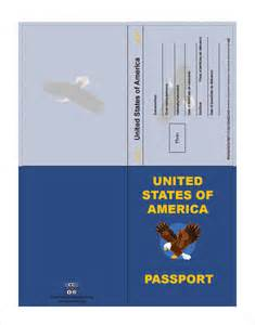 passport template sle passport 8 documents in psd pdf word