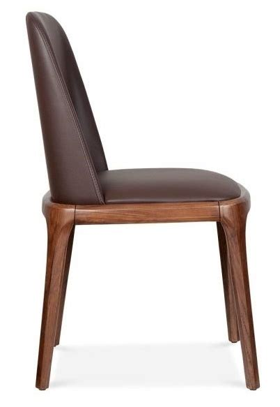Brown Leather Dining Chairs Uk Brown Leather Dining Chair Luxo Reality