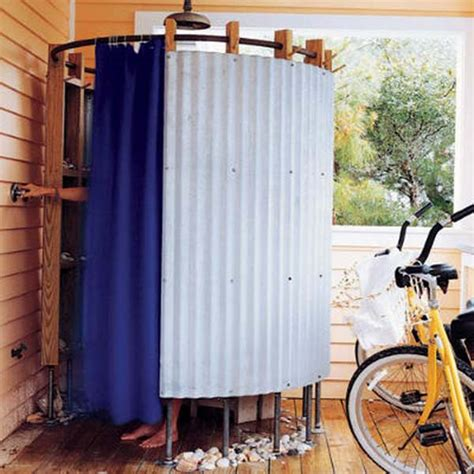 outdoor shower curtains 15 outdoor shower designs modern backyard ideas