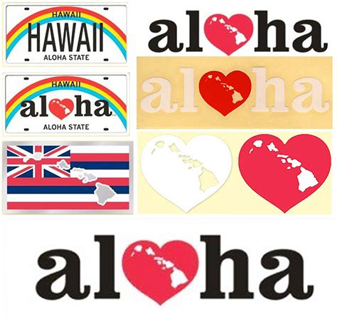 Auto Sticker Hawaii by Hawaii Decal Stickers