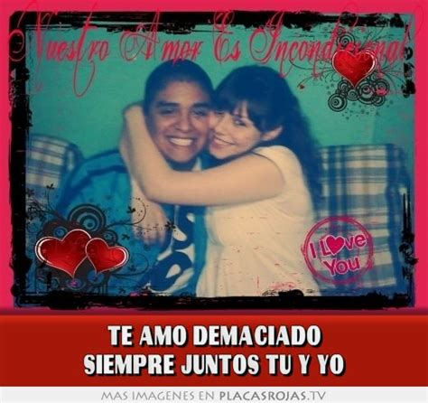 Imagenes Te Amo Siempre Juntos | te amo demaciado siempre juntos tu y yo placas rojas tv