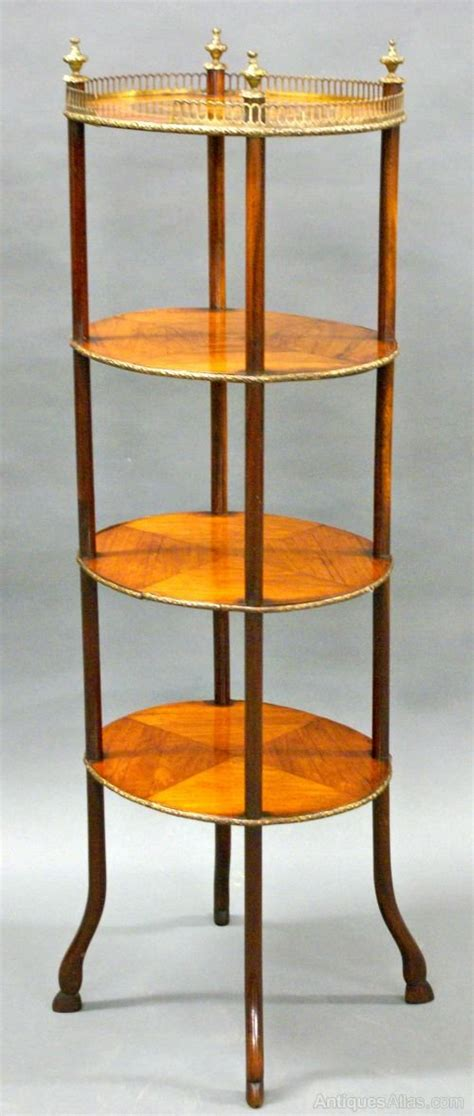 Etagere Oval by A Tier Oval 19th Century Marquetry Etagere Antiques Atlas