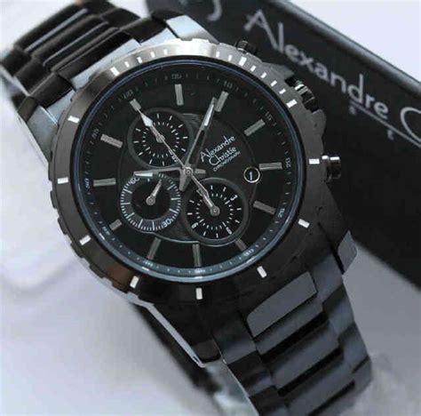 jam tangan alexandre christie pria kode acp warna hitam