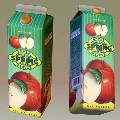 Juice Max S Max S fruit juice 3d max