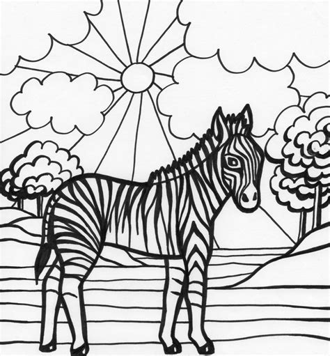 cute zebra coloring page cute coloring pages cute zebra coloring pages kids
