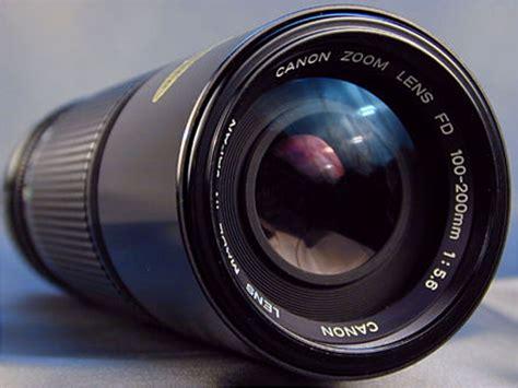canon fd zoom 70 150mm & 100 200mm lenses