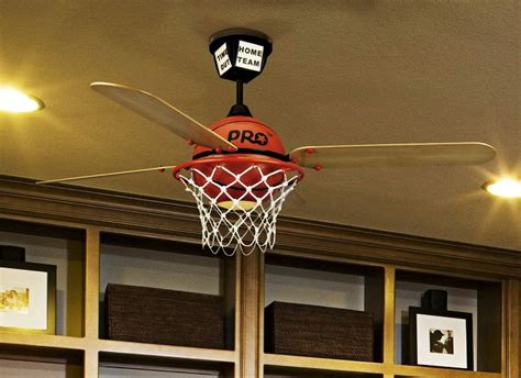 prostar collection 52 quot basketball ceiling fan with custom