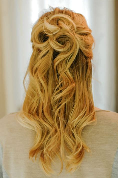 Half Up Hairstyles For Hair by 21 Gorgeous Half Up Half Hairstyles Babble