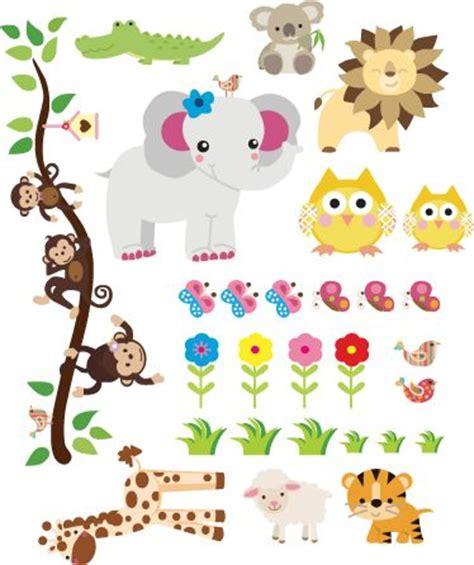 imagenes de animales infantiles animales selva infantil buscar con google dibujos