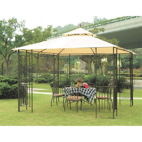 Replacement Canopy Top Cover Sunjoy Leaf Garden Winds