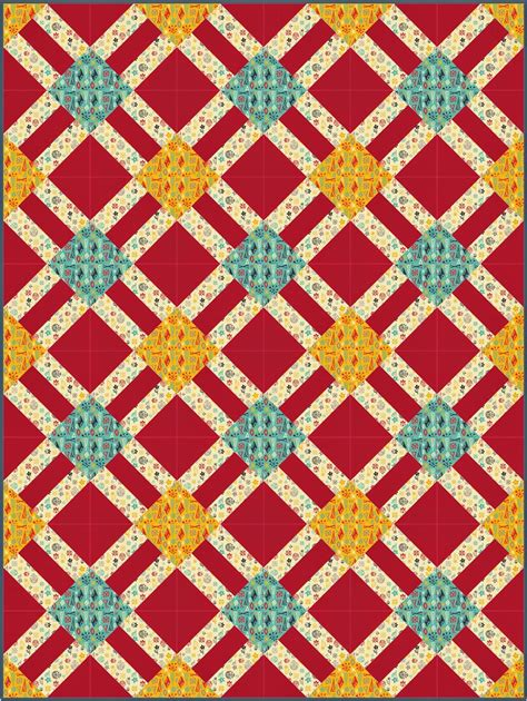 Lattice Quilt Pattern Free by Meadow Mist Designs Cracker Lattice A Free Quilt Pattern From Camelot Fabrics