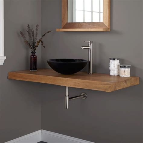 Bathroom Sink Shelf Wood Shelf For Bathroom Sink Pkgny
