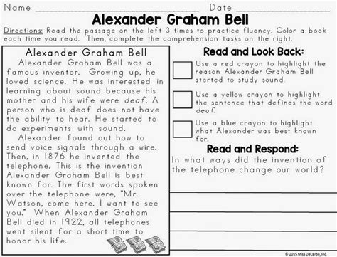 biography ideas for second graders text evidence reading passages biography edition miss