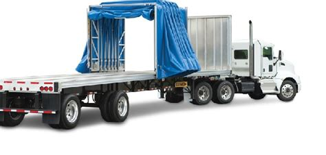 Flatbed Curtain Side Trailers Conestoga Trailer 10 Things You Need To Know Fueloyal