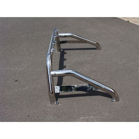 futon rollbar isuzu d max stainless steel roll bar sports single loop