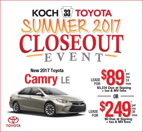toyota lease phone toyota lease offers koch 33 toyota