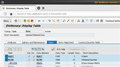 mara table in sap joining tables mara and makt in sap abap