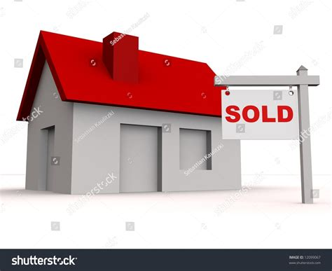 Sold Property Records Sold House Stock Photo 12099067