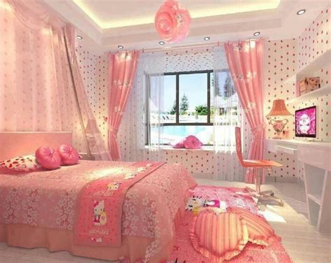 kitty pink bedroom pictures   images