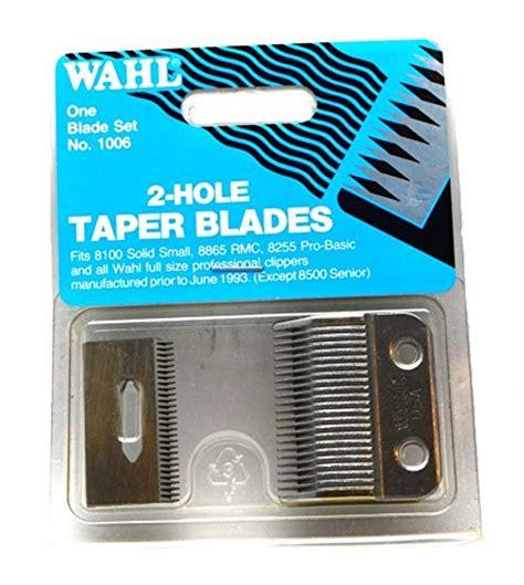 wahl super taper blade 2 wahl super taper spare blade set ebay