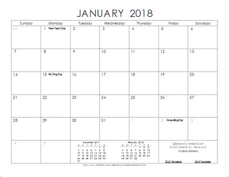 printable calendar 2018 time and date 2018 calendar templates and images