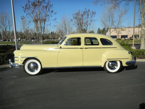 chrysler collection 1948 chrysler newyorker ramshead automobile collection