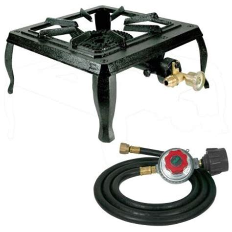sportsman cast iron single burner propane gas stove