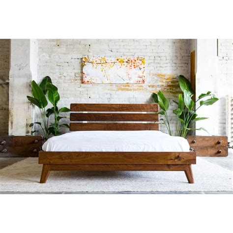 mid century bed frame 17 best ideas about modern platform bed on pinterest
