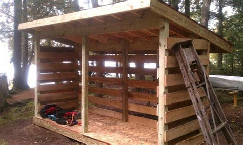 cheap pallet firewood storage shed http dunway