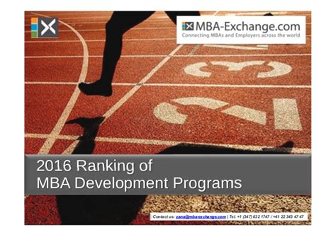 Baker College Mba Reputation by Development Programs Gaining Momentum Among Mba Students
