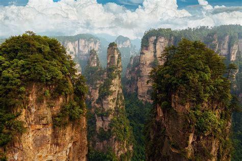 china hunan national forest park zhangjiajie