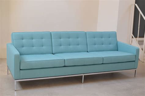 knoll 3 seater sofa three seat lounge sofa by florence knoll for knoll at 1stdibs