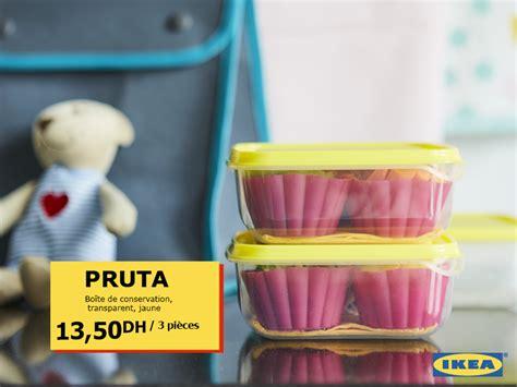 Ikea Pruta 3 ikea maroc promotion sur les bo 238 tes de rangement pruta