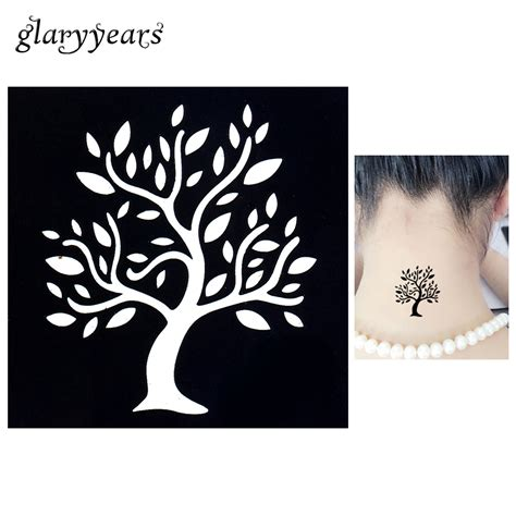 1pc temporary airbrush henna stencil for women body