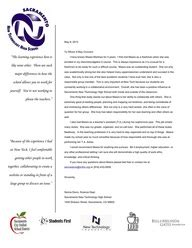 Reference Letter For Biology Student Letters Of Recommendation Maara Martinez S Digital Portfolio