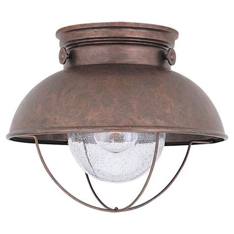 Exterior Ceiling Light Fixtures Outdoor Lighting On Sale Bellacor