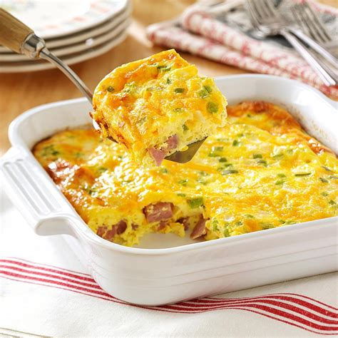 omelets quiches egg casseroles dish recipes for breakfast brunch lunch dinner southern cooking recipes books oven denver omelet recipe taste of home