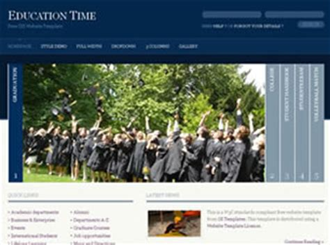 free css templates for educational websites free education website templates 34 free css