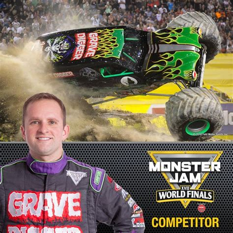 who drives grave digger truck 17 best images about grave digger on 25th