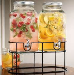 Kitchen Collection Promo Code by Twin Mason Jar Drink Dispensers