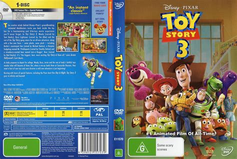 three story toy story 3 2010 ws r4 retail movie dvd cd label