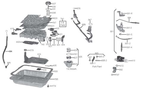 4l60e transmission valve diagram 4l60e valve components diagram wiring library