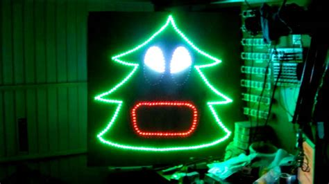 het aalsters kerstlichtje test singing christmas tree