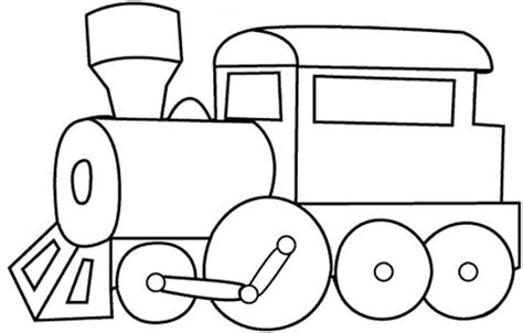 train template printable clipart best